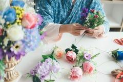 Florista novo Botany Bouquet Bl de Flower Shop Store do proprietário empresarial foto de stock royalty free