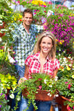 Floristas Imagem de Stock