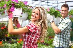 Floristas Fotografia de Stock