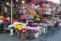 Floristas em Istambul Imagem de Stock