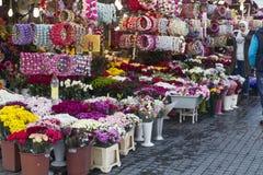 Floristas em Istambul Fotografia de Stock Royalty Free