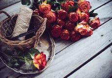 Floristic background Stock Photo