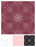 Floristisch naadloos patroon als achtergrond Stock Fotografie