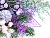 Floristry Advent, floristry grav Arkivfoto