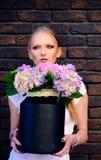 Floristry, floristic дизайн, флористический магазин стоковые изображения