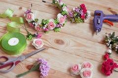 Floristry handgemacht Lizenzfreies Stockbild