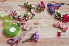 Floristry handgemacht Stockbild