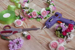 Floristry handmade Royalty Free Stock Photos