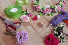 Floristry handmade Stock Images