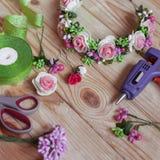Floristry handmade Royalty Free Stock Image
