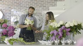 Floristry, handmade and small business concept