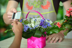 florists Royalty-vrije Stock Foto's