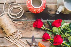 Florists things royalty free stock photos