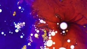 Floritura de pinturas Fotografía de archivo libre de regalías