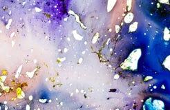 Floritura de pinturas Foto de archivo libre de regalías