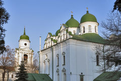 Florivsky monastery in Kyiv, Ukraine. Royalty Free Stock Images