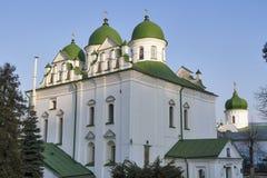 Florivsky monastery in Kyiv, Ukraine. Royalty Free Stock Image