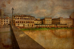 Flornce, Arno River Stock Images