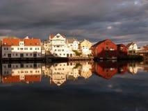 Floro Jachthafen Stockbild