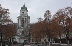 Florovsky monaster w Kyiv, Ukraina obraz royalty free