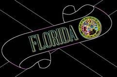 Floryda ślimacznica royalty ilustracja