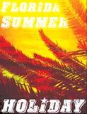 Floryda Grunge tło Rocznika projekt Typografia; koszulka Fotografia Royalty Free