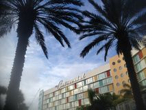 Floryda kurort od 2000s ale hotelu jest jak George Jetson futrue świat fotografia stock