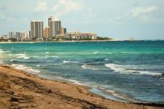 Floryda nabrzeże Zdjęcia Royalty Free