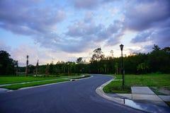 Floryda słońca setu chmura Fotografia Royalty Free