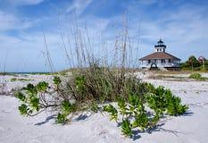 Floryda zachodniego wybrzeża latarnia morska zdjęcie stock