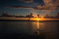 Floryda zmierzch Zdjęcie Stock