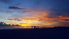 Floryda zmierzch fotografia royalty free