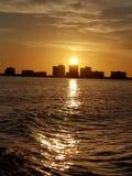 Floryda zmierzch zdjęcie royalty free