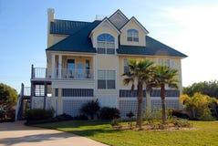 Florydy dom na plaży Obraz Stock