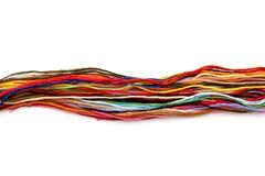 Floss colorido da linha fotos de stock royalty free