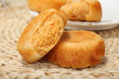 Floss pie Chinese snacks Stock Images