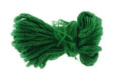 floss zieleni sześć pasemko Obrazy Royalty Free