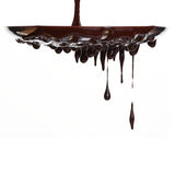 Flot de chocolat chaud image libre de droits