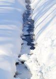 Flot de l'hiver Images libres de droits