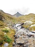 Flot de montagne Images stock