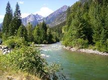 Flot de montagne Photo libre de droits