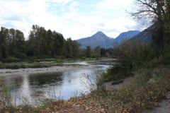 Flot de montagne Image stock