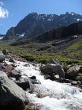 flot de montagne Photographie stock libre de droits