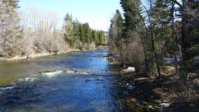flot de montagne du Colorado Images libres de droits