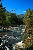 flot de montagne rocheuse Image stock