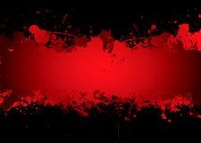 Flot de sang Photos libres de droits