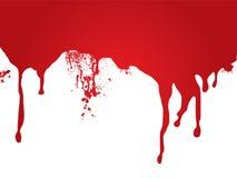 Flot de sang Images stock