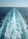 Flot de vitesse normale Images stock