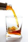 Flot de whiskey photographie stock