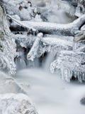 Flot glacial Image libre de droits